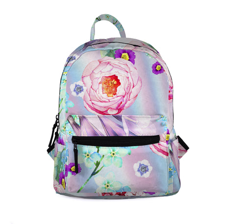Rainbow Bloom Mini Backpacks-Wholesale Women's Leggings, Wholesale Plus Size , Wholesale Fashion Clothing