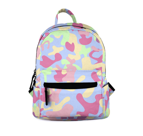 Go Girl Camo Mini Backpacks-Wholesale Women's Leggings, Wholesale Plus Size , Wholesale Fashion Clothing