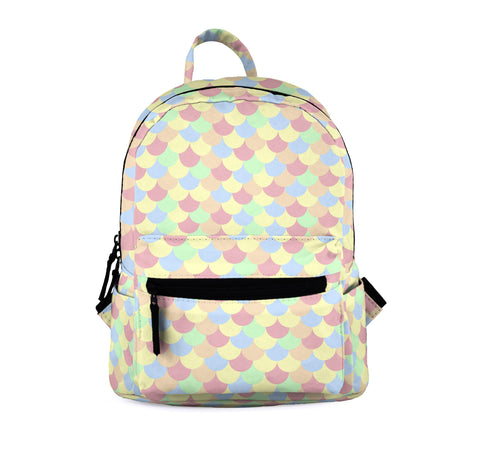 Pastel Mermaid Mini Backpacks-Wholesale Women's Leggings, Wholesale Plus Size , Wholesale Fashion Clothing