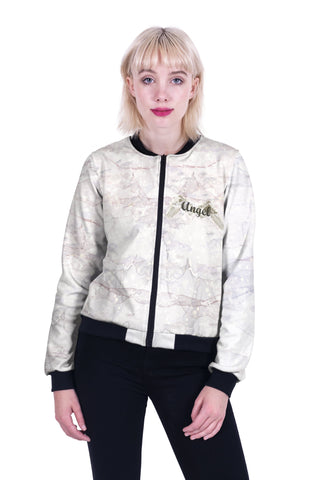 Angelic Bomber Jacket-Wholesale Women's Leggings, Wholesale Plus Size , Wholesale Fashion Clothing
