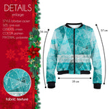 Winter Wonderland Bomber Jacket-Wholesale Leggings UK- Wholesale Women's Clothing- Kukubird Creative Studio