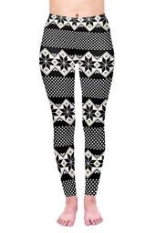 Winter dots Regular Leggings