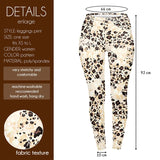 Sandy Leopard Regular Leggings-Wholesale Women's Leggings, Wholesale Plus Size , Wholesale Fashion Clothing