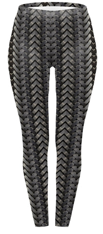 Tyre Print Regular Leggings