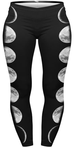 Luna Phase Plus Leggings-Wholesale Women's Leggings, Wholesale Plus Size , Wholesale Fashion Clothing