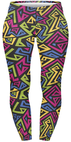 Native Funk Plus Leggings-Wholesale Women's Leggings, Wholesale Plus Size , Wholesale Fashion Clothing