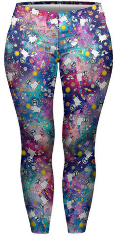 Falaxy Llama Plus Leggings-Wholesale Women's Leggings, Wholesale Plus Size , Wholesale Fashion Clothing