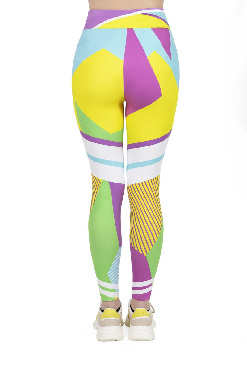 Jazz Sport High Waisted Leggings-Kukubird Creative Studio