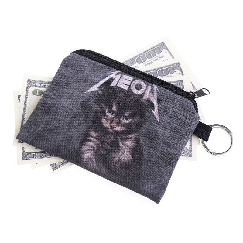 Meow Cat Coin Purses