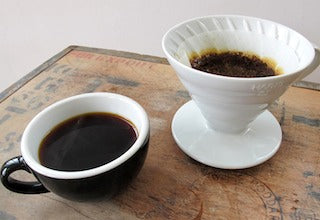 Pour over brewing method