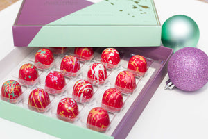 Christmas Liqueurs 16 piece chocolate box
