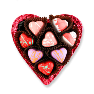 Love heart Truffle Chocolate Heart