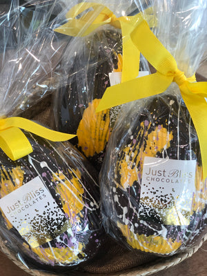Dark Speckled Easter Egg 150g