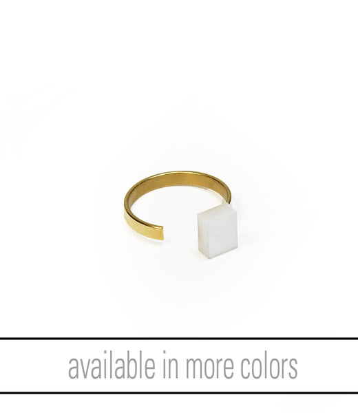 Alma Ring Goldplated