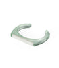 Elise Cuff Bracelet Frosted Green