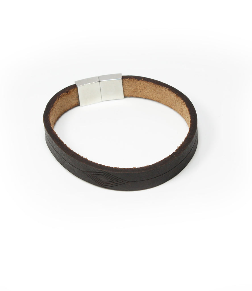 Ragnar Mens Bracelet Brown