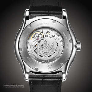 WULF LYCAN-X WF03.01M SWISS MECHANICAL BRACELET MEN'S WATCH