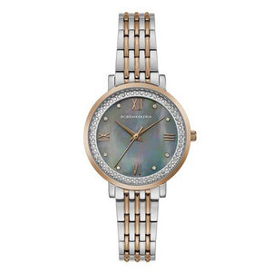 BCBGMAXAZRIA QUARTZ TWO TONE STAINLESS STEEL BG50665002 WOMEN'S WATCH