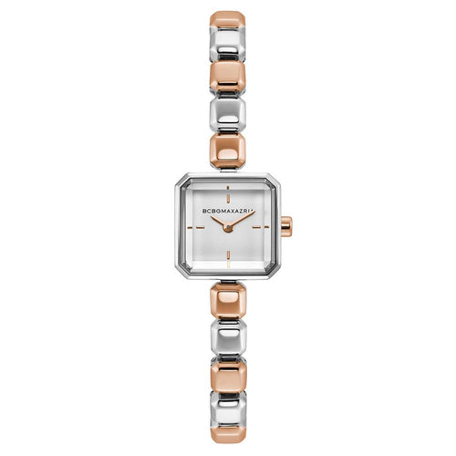 BCBGMAXAZRIA QUARTZ TWO-TONE STAINLESS STEEL BG50677002 WOMEN'S WATCH