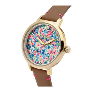 CATH KIDSTON PINK FLORAL ALLOY CKL031T WOMEN'S WATCH