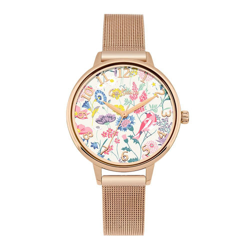 CATH KIDSTON QUARTZ HIGHGATE FIELDS ROSE GOLD ALLOY CKL051RGM LADIES WATCH