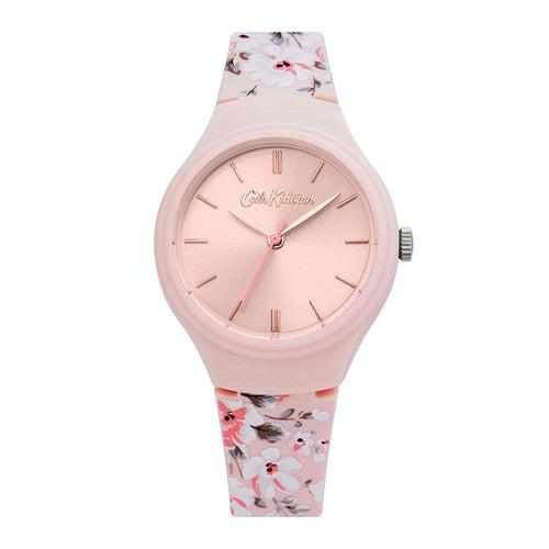 CATH KIDSTON QUARTZ PINK FLORAL ALLOY CKL068P WOMEN'S WATCH