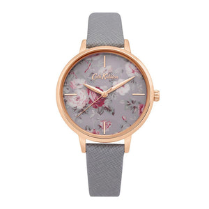 CATH KIDSTON GREY FLORAL ALLOY CKL069ERG WOMEN'S WATCH