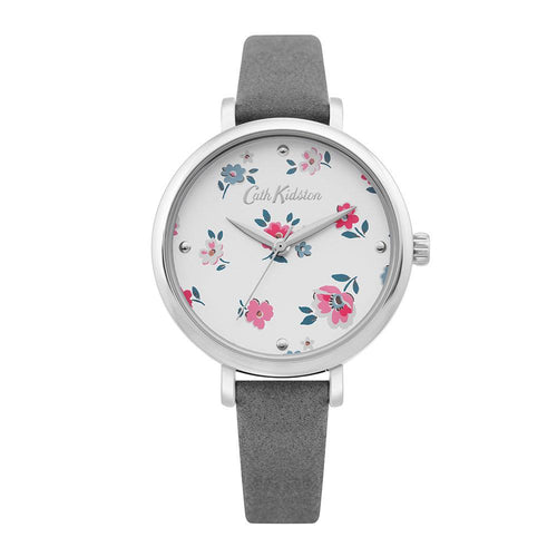 CATH KIDSTON GREY FLORAL ALLOY CKL079E WOMEN'S WATCH