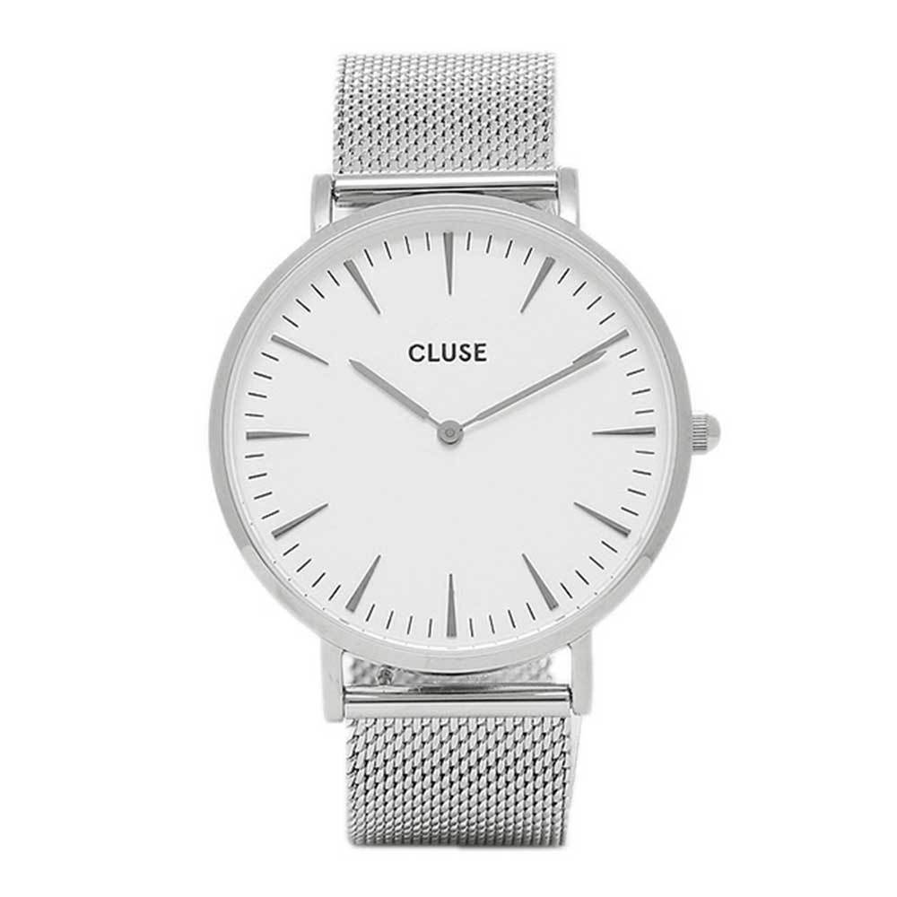 CLUSE LA BOHEME QUARTZ SILVER STAINLESS STEEL CL18105 MESH STRAP LADIES WATCH