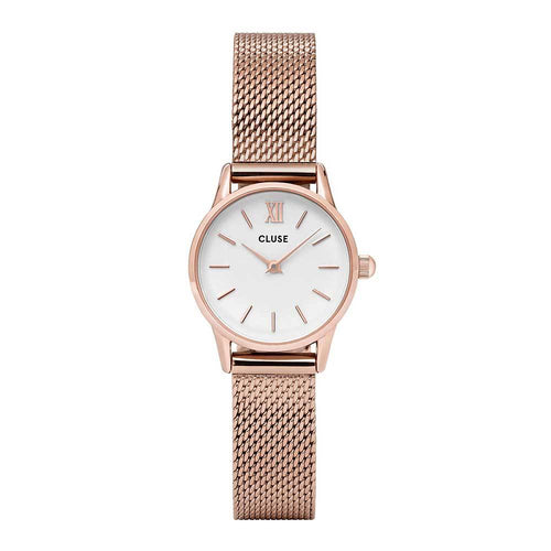 CLUSE LA VEDETTE QUARTZ ROSE GOLD STAINLESS STEEL CL50006 MESH STRAP LADIES WATCH