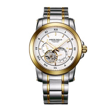 Load image into Gallery viewer, ARIES GOLD AUTOMATIC INFINUM FORZA TWO TONE GOLD STAINLESS STEEL G 9001 2TG-W MEN'S WATCH