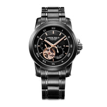 Load image into Gallery viewer, ARIES GOLD AUTOMATIC INFINUM FORZA BLACK STAINLESS STEEL G 9001 BK-BK MEN'S WATCH