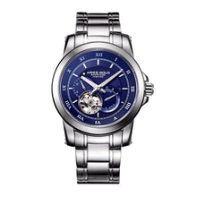 Load image into Gallery viewer, ARIES GOLD AUTOMATIC INFINUM FORZA SILVER STAINLESS STEEL G 9001 S-BU MEN'S WATCH
