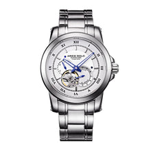 Load image into Gallery viewer, ARIES GOLD AUTOMATIC INFINUM FORZA SILVER STAINLESS STEEL G 9001 S-W MEN'S WATCH