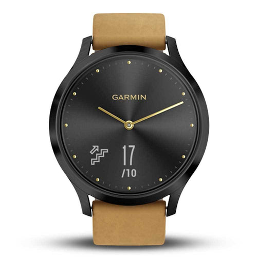 GARMIN VIVOMOVE HR PREMIUM ONYX BLACK GM-010-01850-90 HYBRID SMARTWATCH