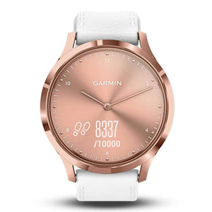 GARMIN VIVOMOVE HR PREMIUM ROSE GOLD GM-010-01850-9B HYBRID SMARTWATCH