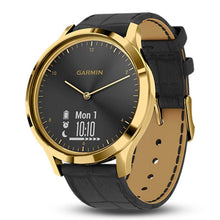 Load image into Gallery viewer, GARMIN VIVOMOVE HR PREMIUM GOLD GM-010-01850-9C HYBRID SMARTWATCH
