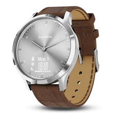 Load image into Gallery viewer, GARMIN VIVOMOVE HR PREMIUM SILVER GM-010-01850-9D HYBRID SMARTWATCH