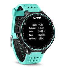 Load image into Gallery viewer, GARMIN FORERUNNER 235 SINGLE BAND FROST BLUE GM-010-03717-7D SMARTWATCH
