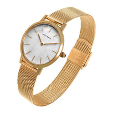 Load image into Gallery viewer, ARIES GOLD COSMO GOLD STAINLESS STEEL L 1024 G-MP MESH STRAP WOMEN'S WATCH