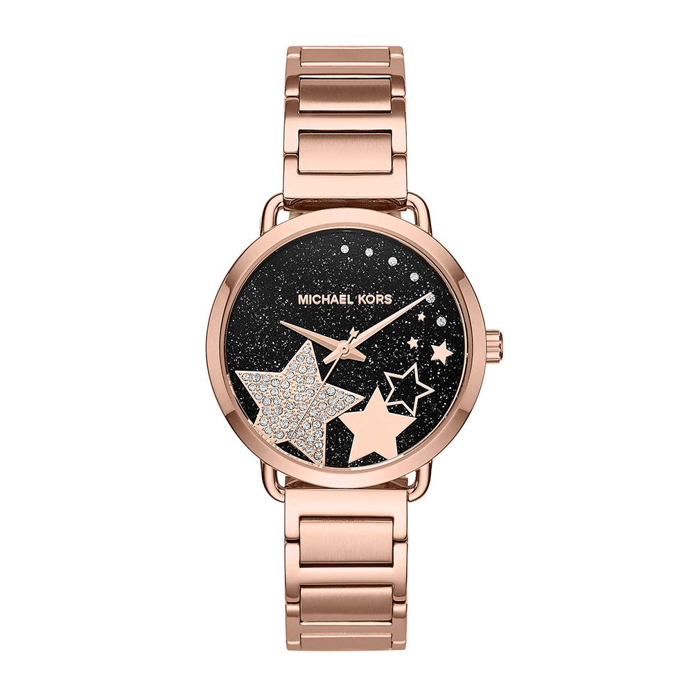 MICHAEL KORS PORTIA ROSE GOLD MK3795 WOMEN'S WATCH
