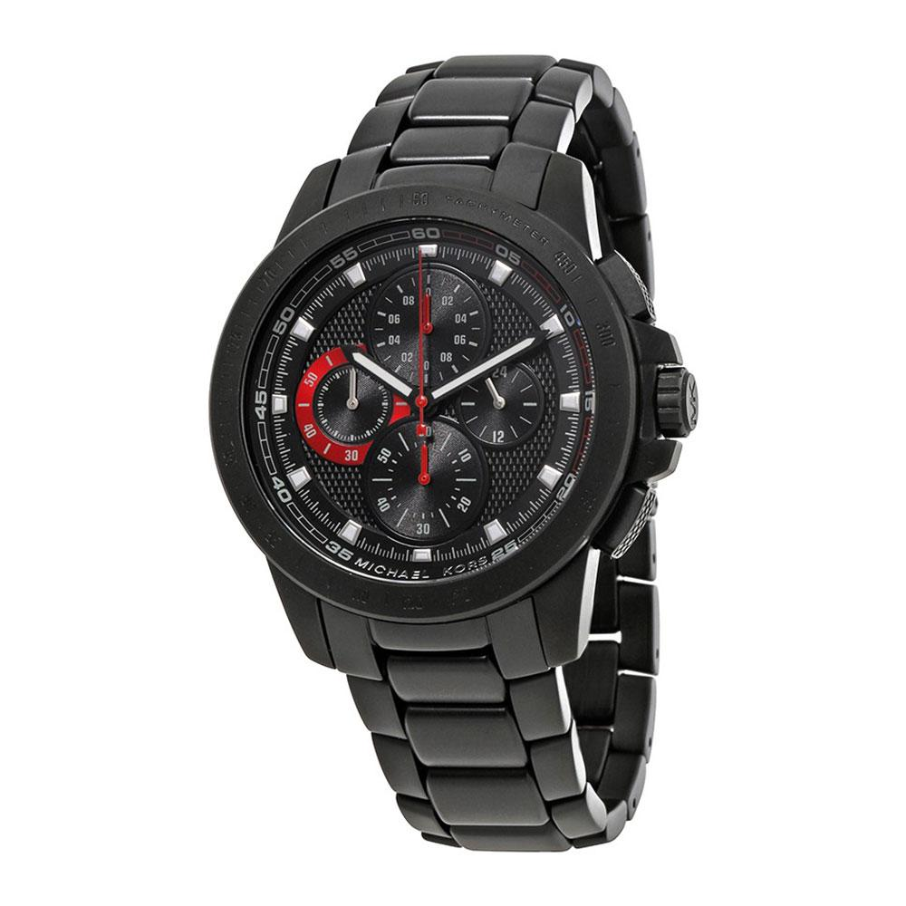 MICHAEL KORS RYKER BLACK CHRONOGRAPH MK8529 MEN'S WATCH