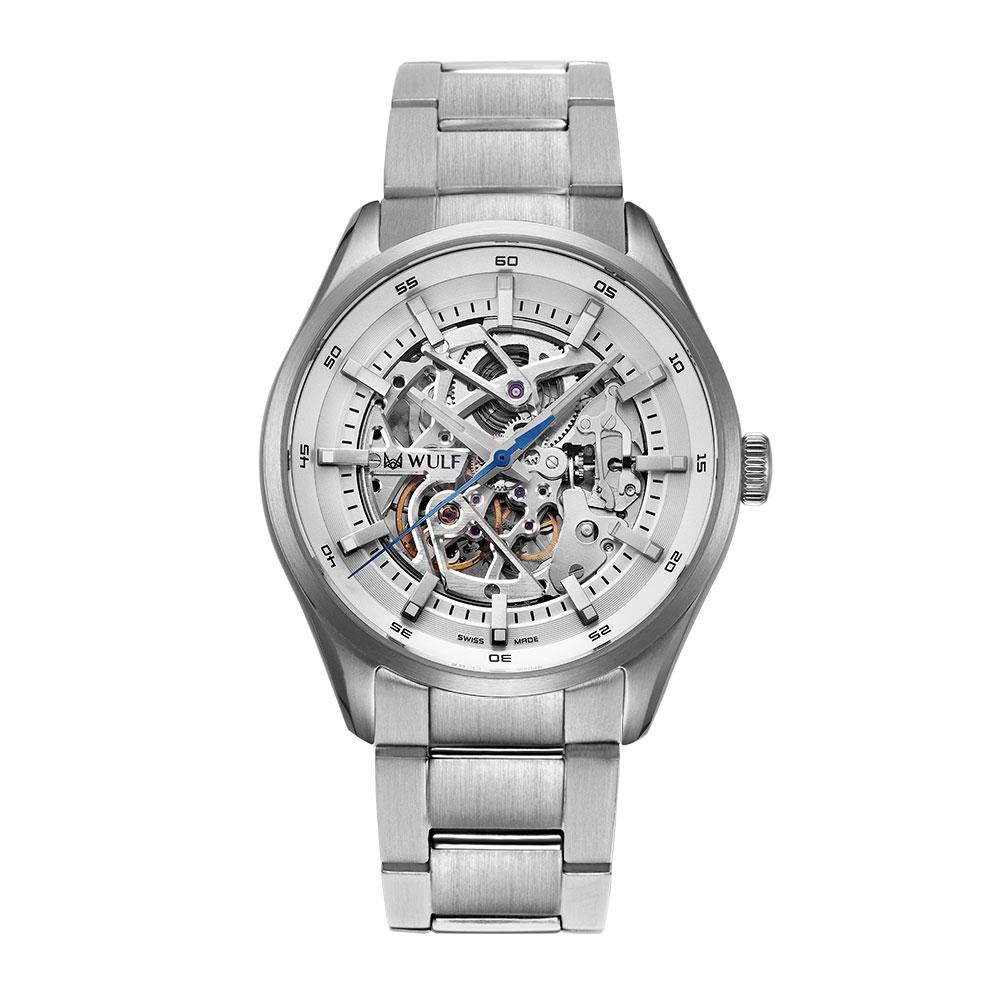 WULF EXO-X WF02.01M SWISS MECHANICAL BRACELET MEN'S WATCH
