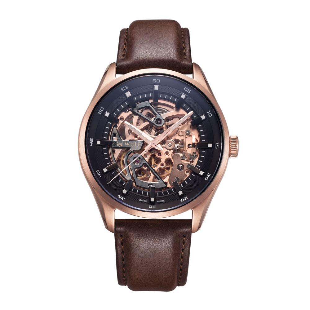 WULF EXO WF02.03 SWISS MECHANICAL MEN'S WATCH