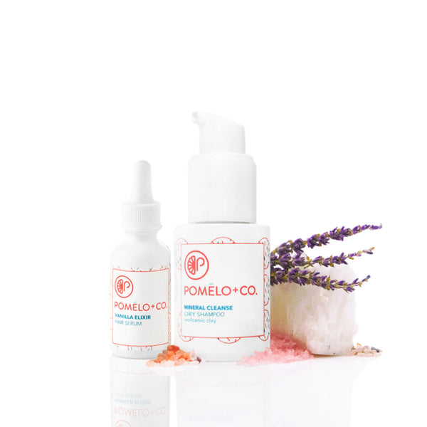 <b>THE WORKOUT SET</b> <br>Trockenshampoo + Vanilla Elixir<br>