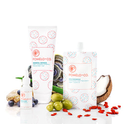 <b>SUPERFOOD TRIO SET</b> <br>Goji Elixir + Goji Treatment + Shampoo Mineral Defense