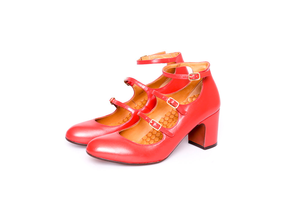 Chie Mihara Flawless Red Shoes