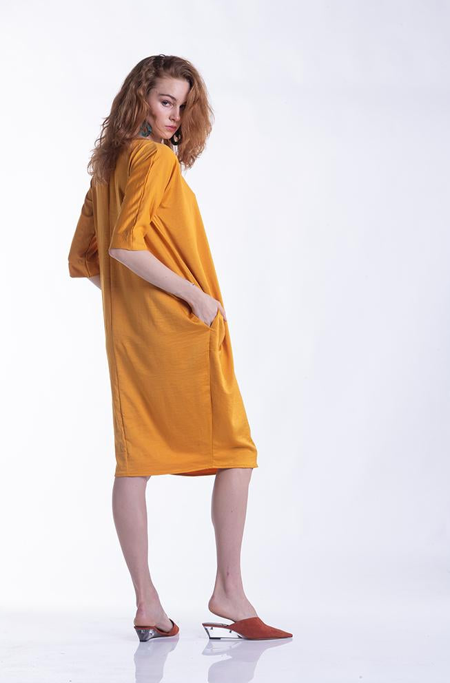 Cocoon Dress - Marigold