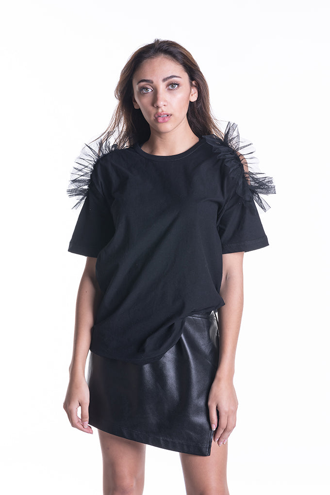 Don't Be A Tulle T-shirt - Black