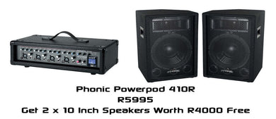 Powerpod 410R + Free SEM710 Speakers